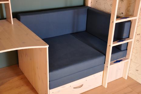 <p>Kussenset voor loungebank kleur:&nbsp;Blauw</p> <p>Sterke stof, geschikt voor kinderen om op te spelen en voor een loge om te slapen.</p> <p>Stevige SG25 matrasvulling.</p>
