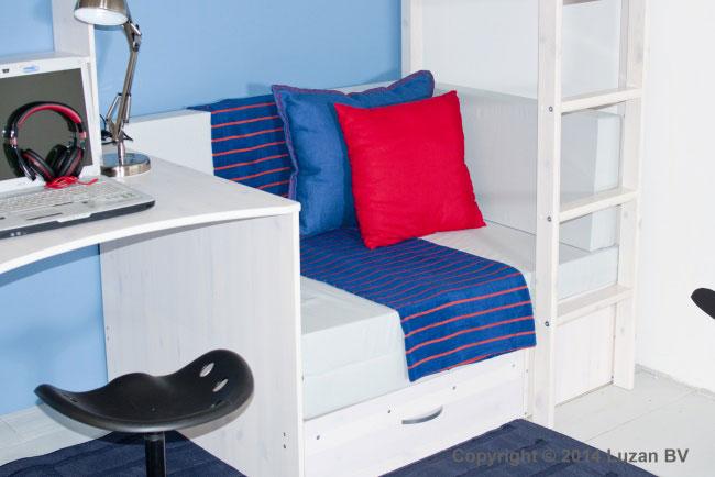 Kussenset Trendy voor loungebank - grijs
