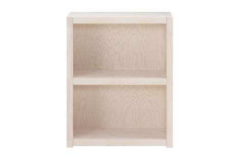 Een prachtige Lifetime boekenkast (white wash) met 2 vakken. Het boekenkastje is gemaakt van massief grenenhout.