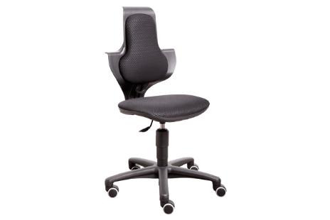Bureaustoel in hoogte verstelbaar  zitting kleur stof zwart
