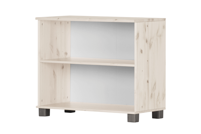 Boekencommode TRENDY (whitewash)