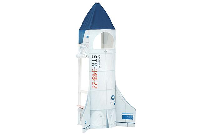 Discovery shuttle voor klimtoren