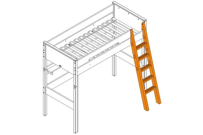 <p>Bopita trap schuin voor hoogslaper XL</p>