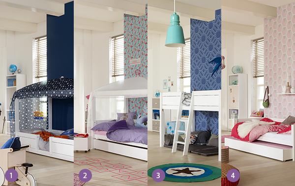 <p>Het Lifetime 4 in 1 bed is geschikt voor jonge kinderen om te laten spelen, slapen en gewend te raken aan een groot bed op een veilige manier. Je past het bed gemakkelijk aan de wensen van jouw kind aan.</p> <p>Dit bed begint als eenlaag hemelbed met lage instap en&nbsp;links en rechts een hekje tegen het uitvallen. Vervolgens is het om te bouwen naar een hemelbed (op hogere poten). Daarna is het bed om te bouwen naar halfhoogslaper en tenslotte kan er een basisbed met dichte achterkant als bedbank van gemaakt worden om als tiener lekker op te loungen.</p> <p>En dit alles in LIFETIME kwaliteit!</p> <p>1) Laag Hemelbed<br />2) Hoog&nbsp;hemelbed<br />3) Halfhoogslaper<br />4) Basisbed met bedbank</p> <p>&nbsp;Maximaal gewicht lattenbodem ca. 150 kg.</p>
