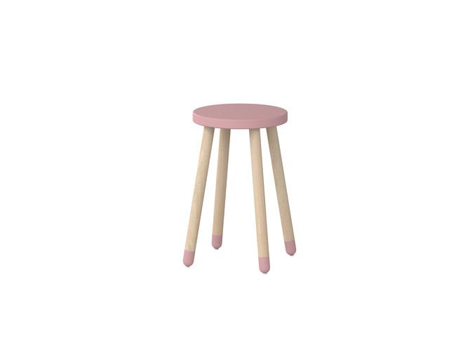Hoge kinderstoel Flexa Play roze