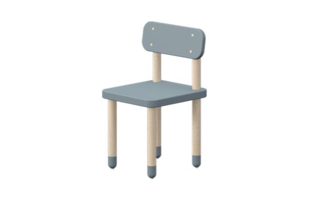 Flexa Play stoel licht blauw