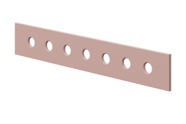 Uitvalbeveiliging (3 4) voorzijde licht roze