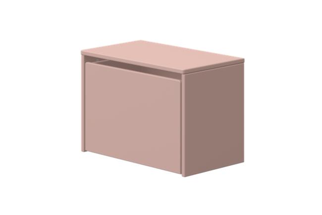 Flexa play opberg zitbankje 3 in 1 licht roze