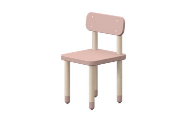 Flexa Play stoel licht roze