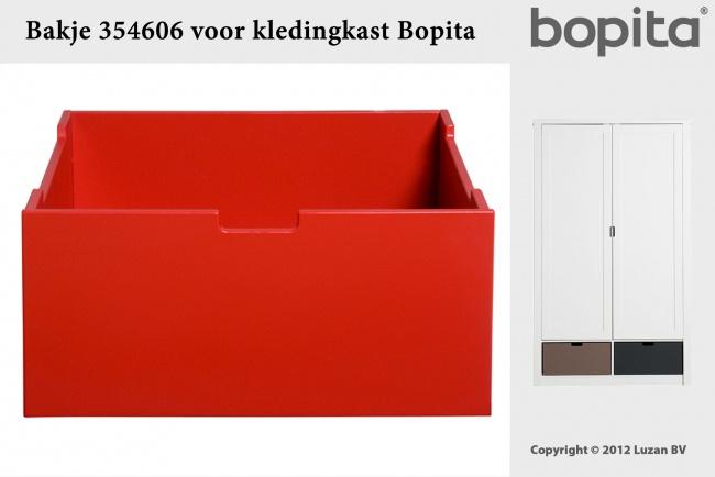 Bopita Bakje Voor Kast Rood