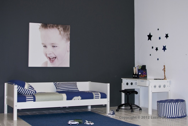 Kinderbed uit de White serie van Flexa.