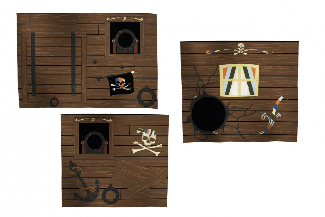 Flexa Tentdoek Piraat
