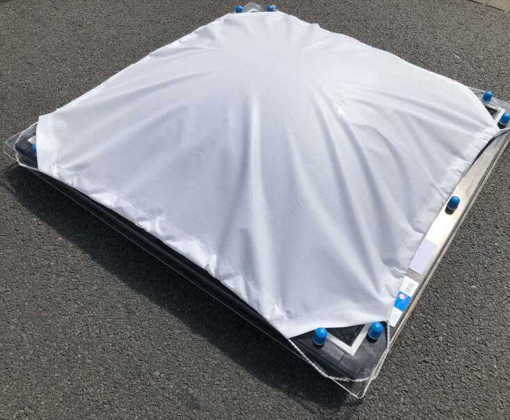 Zonnedoek Bolvormig rechthoekig 70x100cm